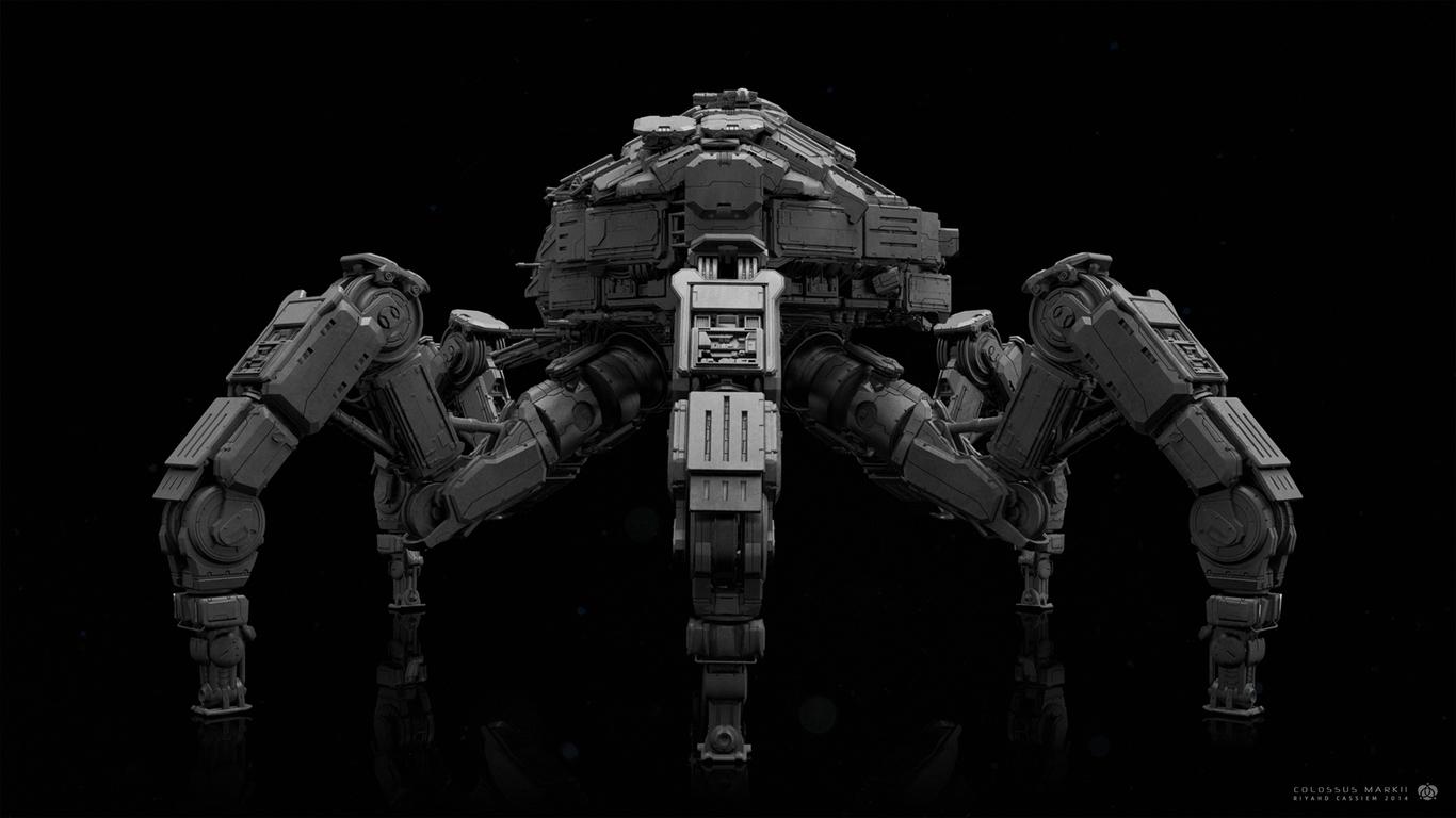 Colossus War Rig