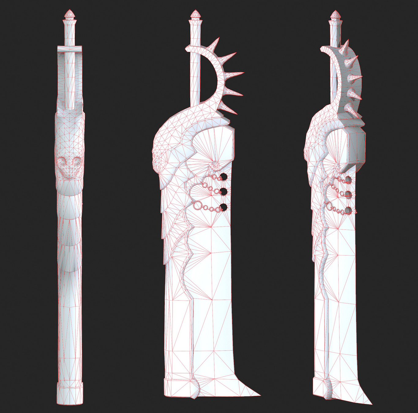 sword Wireframe