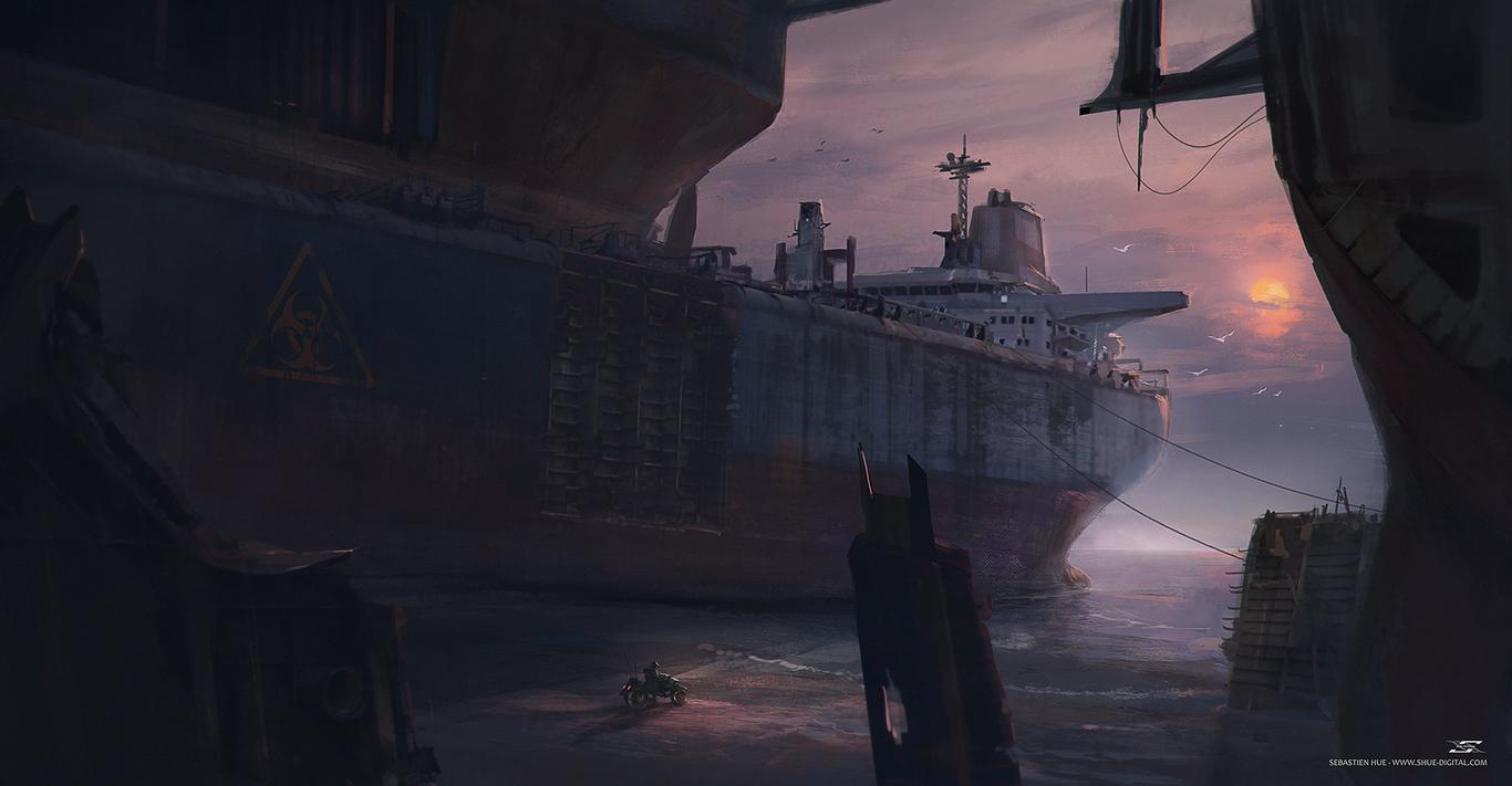 A Dweller Of The Shipyard