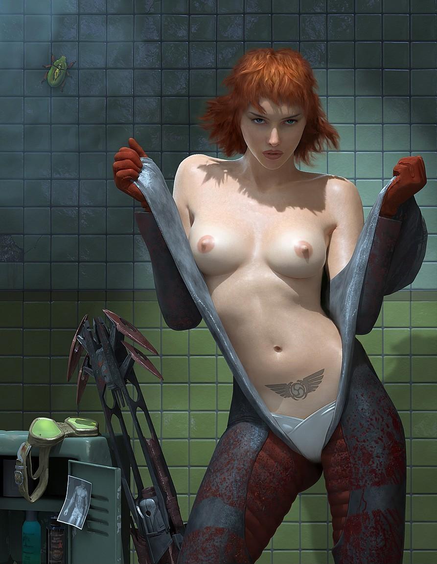 Nude oddity video