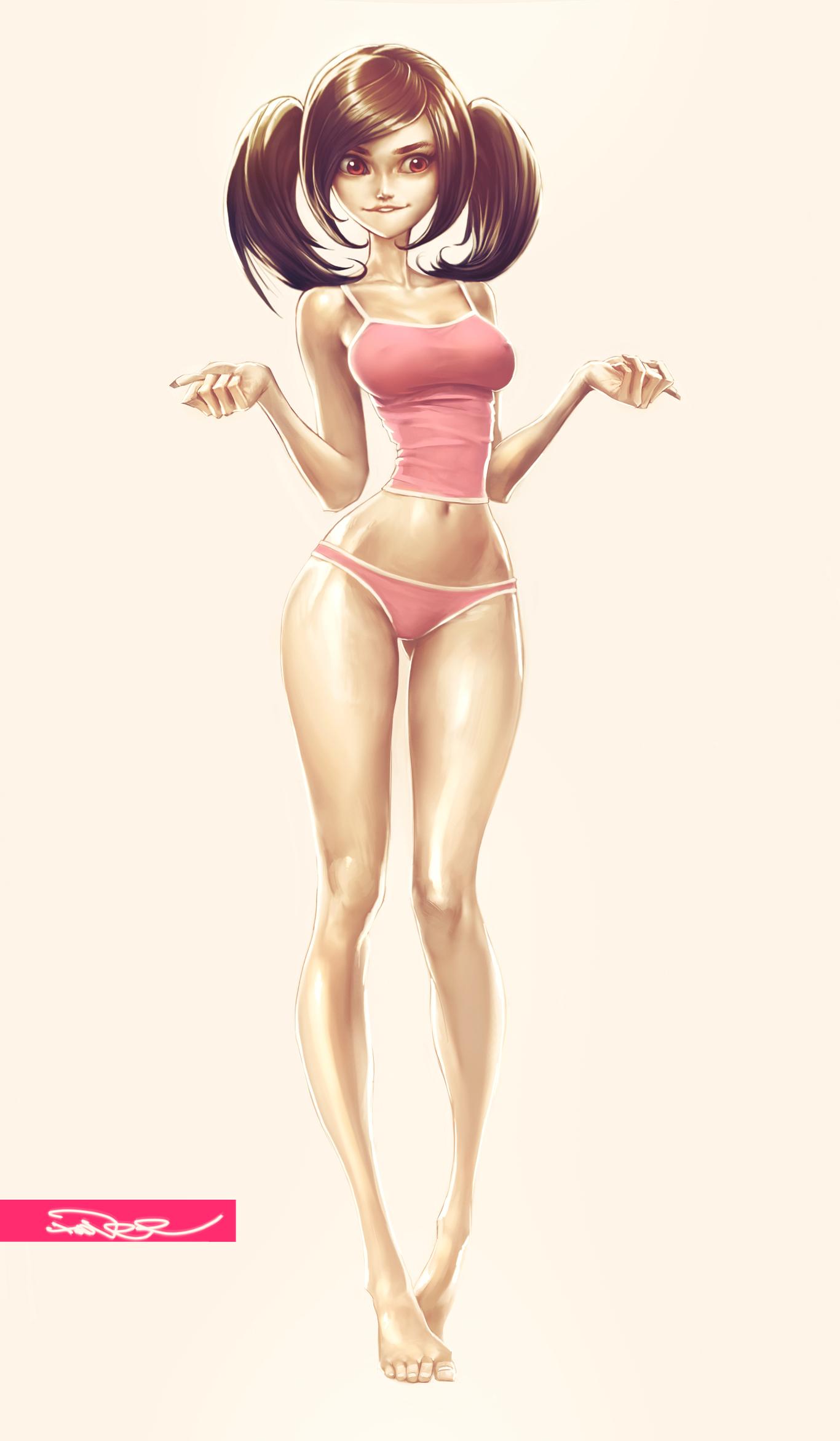 Sexy young girl cartoons — 5