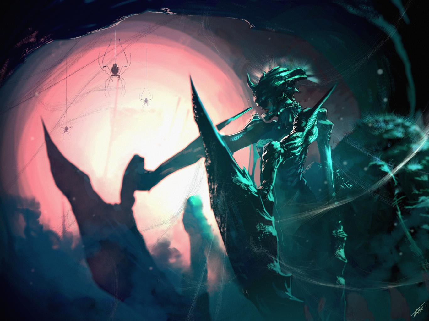 Zeroxenon777 wake up spider queen 1 776c8de0 o4dv