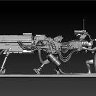 Concept Scifi Rifle