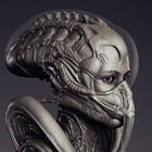 Sigourney Weaver - Alien Suit