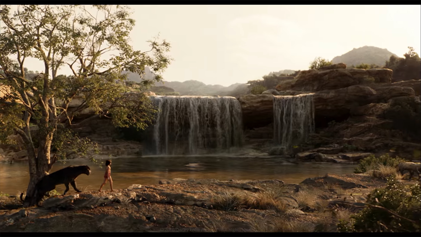 MPC 'Naturalistic Effects' of The Jungle Book VFX breakdown